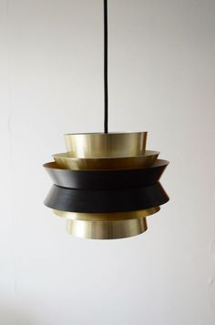Fog Morup brass pendant light #Danish #light
