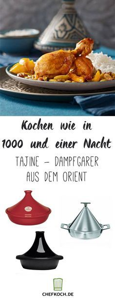 Die Tajine – Funktion, Kauftipps und Rezepte The tagine function, buying tips and recipes Oriental Food, Different Recipes, Outdoor Cooking, International Recipes, Whole Food Recipes, Meal Planning, Brunch, Food And Drink, Low Carb