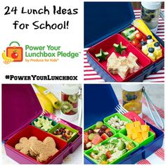 24 Lunch Ideas for School #Ad