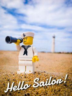 Hyperbolego – Lego Inspired Original Photography Hello Sailor!