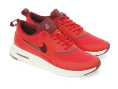 Nike Wmns Air Max Thea Action Red Black (599409-603) - RMKstore