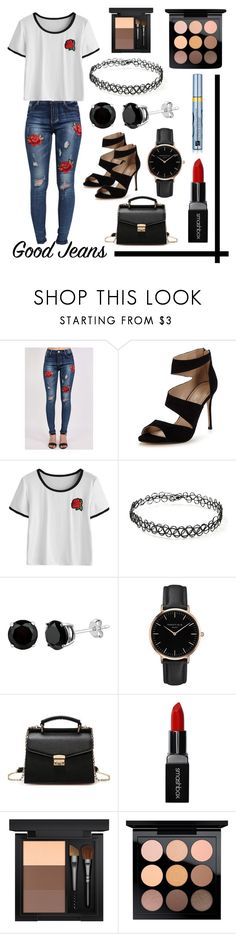 """""""The Rose still shines through the toughest times"""" by i-love-tennis ❤ liked on Polyvore featuring Pilot, Carvela, Forever 21, Topshop, Smashbox, MAC Cosmetics, Estée Lauder and distresseddenim"""