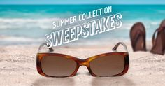 Get your best look for summer! Enter for a chance to win one of 12 complete pairs of stylish eyeglasses from the Summer Collection. See rules.