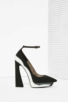Jeffrey Campbell Power Cut Platform Heel | Shop Heels at Nasty Gal