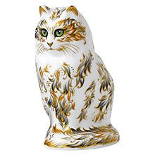 Buy Royal Crown Derby Fifi Cat Paperweight, Multi Online at johnlewis.com