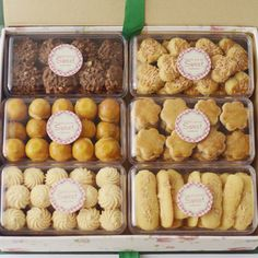 50 Trendy Ideas For Design Box Cake Packaging Ideas Dessert Packaging, Bakery Packaging, Cookie Packaging, Packaging Ideas, Cookie Box, Cookie Gifts, Biscuits Packaging, Chocolate Gift Boxes, Chocolate Chocolate