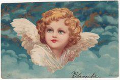 Clapsaddle Angel Original Vintage Art Postcard | eBay