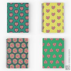 Veronica Galbraith • Surface Pattern Designer • Rosa • Notebooks