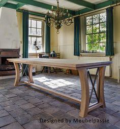 Unieke kasteeltafel voor jouw eigen kasteeltje. #eetkamer #woonkamer ...