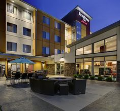 Night Life at the Residence Inn!