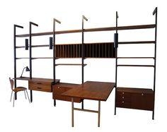 ikea+hack+midcentury | an IKEA Stolmen Into a George Nelson-Style Wall Unit IKEA Hackers ...