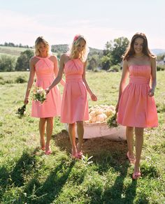 Coral Reef is one of our favorite bridesmaid hues. Check out these styles, along with other featured bridesmaid dresses in this color! #davidsbridal Enter the Style My Maids Sweeps for a chance to win a 500 dollar David's Bridal gift card: http://sweeps.piqora.com/stylemymaids Ends 4/29/13 Rules: http://sweeps.piqora.com/contests/contest/content/davidsbridal.com/178/rules