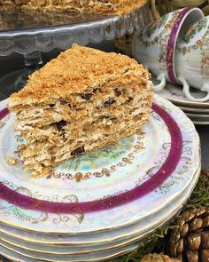 578 отметок «Нравится», 47 комментариев — Кристина Згибнева (@kristina_zgibneva) в Instagram: «Этот рецепт медовика покорил меня своим вкусом и нежностью!Это самый вкусный медовый торт ,который…» Honey Cake, Tiramisu, Ethnic Recipes, Instagram Posts, Desserts, Cakes, Food, Tailgate Desserts, Deserts