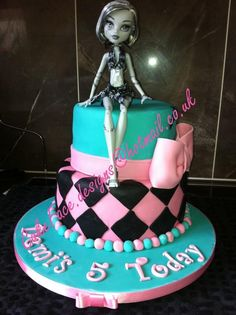Monster High Birthday Cake design available at Walmart ...