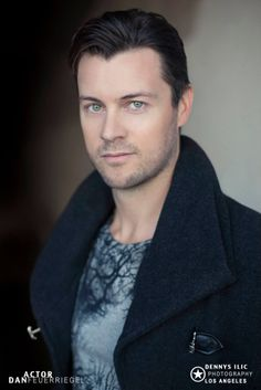Dan Feuerriegel by Dennys Ilic - My fave picture of Dan (favorite clothed picture I should say!)