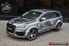 Vehicle wrap design Audi Q7 Transformers V12 - Małachowski Projekt