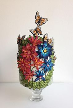 Thousands of flowers with millefiori - Cake by Mnhammy by Sofia Salvador