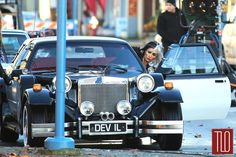 "victoria smurfit as cruella | Victoria Smurfit as Cruella de Vil on the Set of ""Once Upon a Time ..."