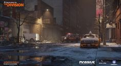 Tom Clancy's The Division, division, ubisoft, ubisoft massive, environment art, gamedev, game development, game industry, assets, art, games