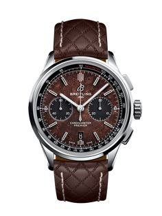 Discover the Breitling Premier Chronograph 42 Bentley Centenary Limited Edition in a combination of Steel, Brown and Brown Leather. Find out more online.