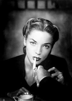 #Lauren Bacall.