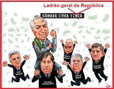 Refazendo a charge Absolvição de Amarildo (extraída de: www.amarildo.com.br)