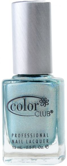 Angel Kiss (Holographic) by Color Club Spa Branding, Polish Names, Teal Nails, Angel Kisses, Color Club, Crossed Fingers, Professional Nails, Just Amazing, Nails Magazine