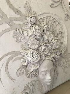 Modern Goddess in Concrete — ArtFusion Event  www.artfusionevent.com