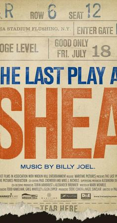 The Last Play at Shea (2010)