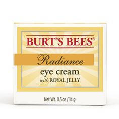 Burt's Bees Radiance Eye Cream, 0.5 Ounces *** Want to know more, visit the site now : Creams and Moisturizers