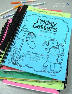 Fostering the Home-School Connection Through Friday Letters~Such a simple, yet powerful tool for both me and my students. Find out why in this post and get started writing Friday letters in your classroom by downloading the FREE starter kit with this editable book cover and a parent letter to get you started.