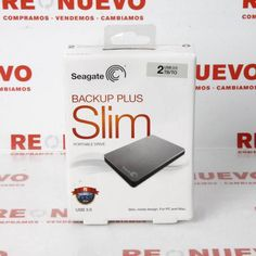 Disco duro SEAGATE BACKUP PLUS 2TB Nuevo Precintado E277684 | Tienda online de segunda mano en Barcelona Re-Nuevo