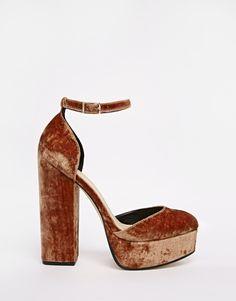 Image 2 - ASOS - PENDULUM - Chaussures à plateforme style 70's