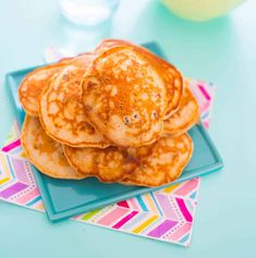 Wholemeal sultana pikelets, perfect for a snack, lunchbox or breakfast. Delicious recipe with the goodness of wholemeal flour & no added sugar!