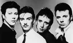 'Afterwards everyone wanted us to write a song called Berlin or Paris' … from left, Warren Cann, Midge Ure, Chris Cross and Billy Currie.