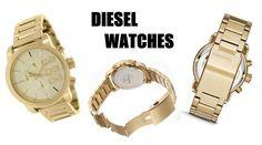 c5fb907677a Kadınların aşık olacağı bu şık altın sarısı DIESEL saat