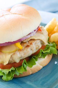 Spicy Chipotle Turkey Burgers #Recipe