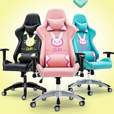 Pre-order Overwatch D.VA DVA bunny Gaming Chair SD02353