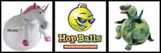 Waliki Toys has amazingly fun line of Hop Balls that you can jump around on but they are not just for kids! That's right! Adults can play too! Hop Balls come in all sizes and styles and are great for exercise, races, parties or just having a great time!