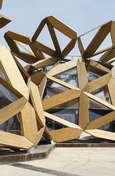 COPAGRIs Dome at Expo Milano 2015, Milan, 2015 - EMBT | Enric Miralles - Benedetta Tagliabue