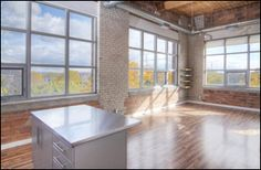 When can I move in? Toronto Photos, Bedroom Corner, Bicycle Storage, Exposed Brick Walls, Wood Ceilings, Lofts, The Neighbourhood, Feather, Sweet Home
