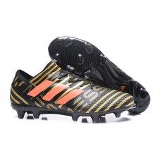 Cheap adidas Nemeziz Messi 17.1 FG Black Red Gold Soccer Cleat Football Shoes, Soccer Shoes, Cheap Soccer Cleats, Adidas Predator, Messi, Red Gold, Shoes Online, Hiking Boots, Bright