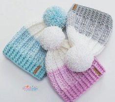 26 Ideas Crochet Patterns Baby Hats Winter For 2019 Crochet Hook Sizes, Crochet Stitches, Crochet Hooks, Crochet Patterns, Crochet Tutorials, Hat Patterns, Modern Crochet, Easy Crochet, Amigurumi Giraffe