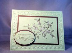 Wedding Congratulations Card inspired by Debbie