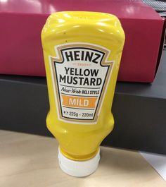 We got a full-size sample of Heinz Mustard through the post.