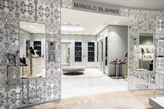 Manolo Blahnik store by Nick Leith-Smith Moscow  Russia