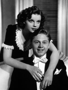 """1940 - """"Andy Hardy Meets A Debutante"""" - Judy Garland and Mickey Rooney"""