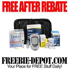 FREE AFTER REBATE – Glucose Monitoring Kit - Exp 8/30/14