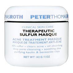 Therapeutic Sulfur Masque Acne Treatment Masque - Peter Thomas Roth | Sephora