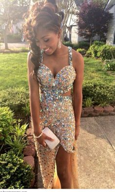 2015 New Arrival Mermaid Prom Dresses, Crystal Prom Dresses 2015, Prom Dresses Champagne, Dresses For Prom, Floor Length Prom Dresses, Sexy Prom Dresses